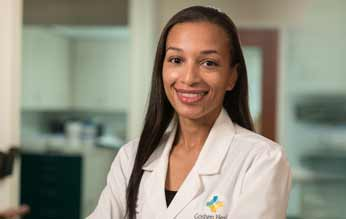 Working at the forefront of cancer treatment: Dr. Ashley Hardy