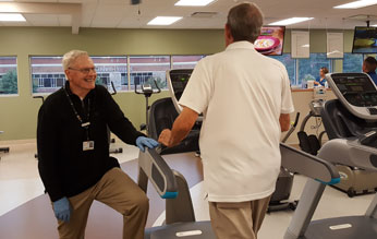 Volunteer couple offers encouragement at Goshen Health