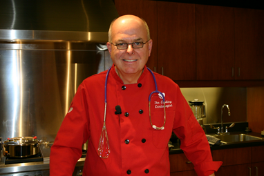 Dr. Richard Collins, the cooking cardiologist, is coming to Goshen to show how easy plant based cooking can be and explain how important healthy eating is for the heart and vascular systems.