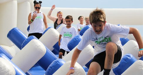Great Inflatable Race 5K fun run